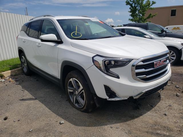 Salvage cars for sale from Copart Glassboro, NJ: 2019 GMC Terrain SL