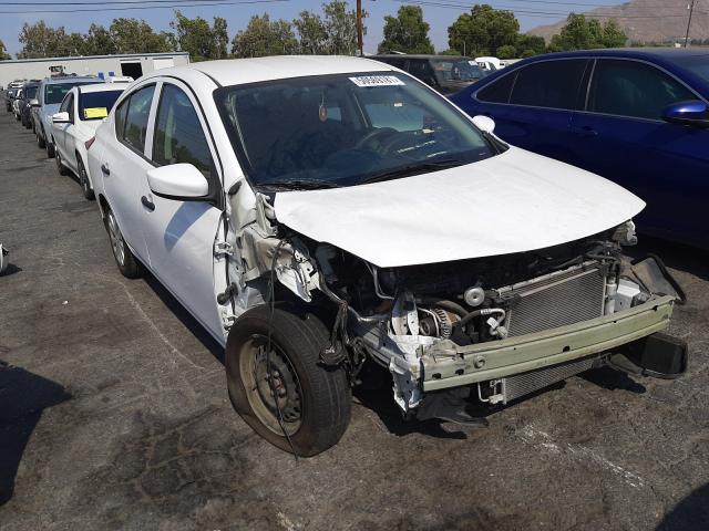 Vehiculos salvage en venta de Copart Colton, CA: 2017 Nissan Versa S