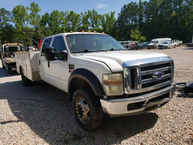 Salvage cars for sale from Copart Knightdale, NC: 2008 Ford F550 Super