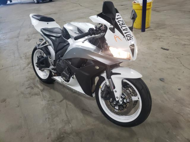 Salvage cars for sale from Copart Woodburn, OR: 2007 Honda CBR600 RR