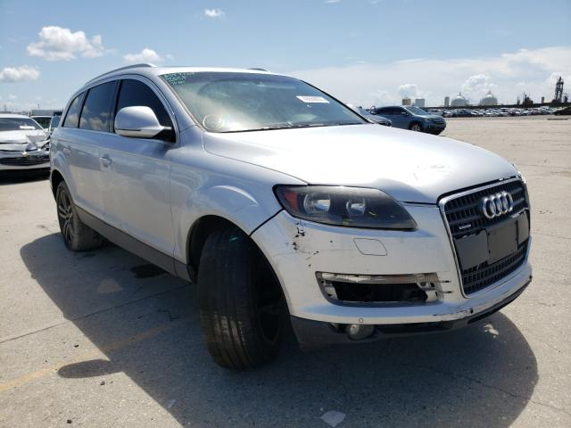 Salvage cars for sale from Copart New Orleans, LA: 2008 Audi Q7 3.6 Quattro