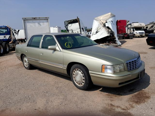 Salvage cars for sale from Copart Tucson, AZ: 1997 Cadillac Deville