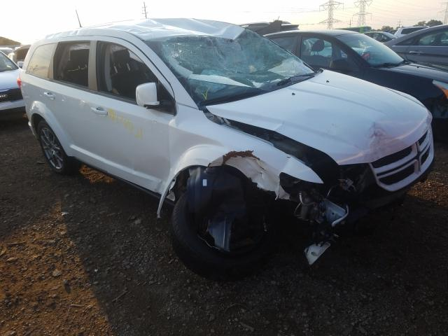 Salvage cars for sale from Copart Elgin, IL: 2019 Dodge Journey GT