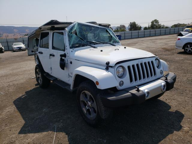 Salvage cars for sale from Copart San Martin, CA: 2017 Jeep Wrangler U