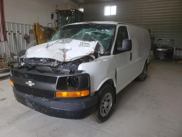 Salvage cars for sale from Copart Des Moines, IA: 2009 Chevrolet Express G1