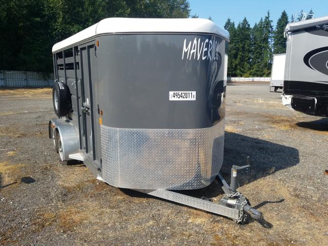 Salvage cars for sale from Copart Arlington, WA: 2019 CB Trailer