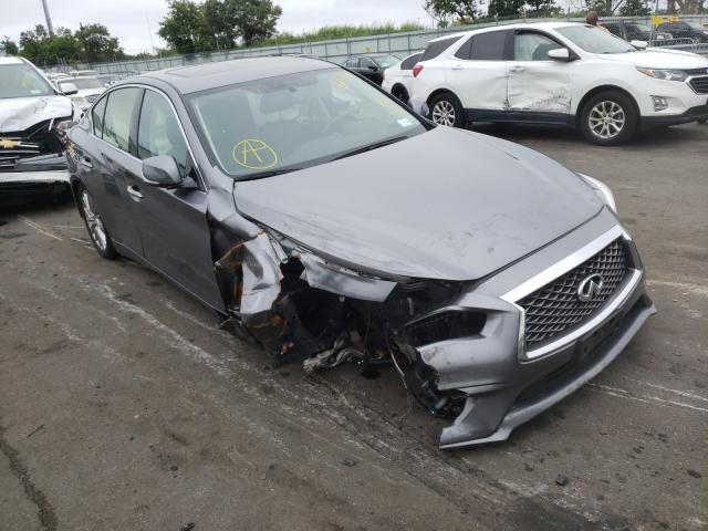 Infiniti Q50 salvage cars for sale: 2020 Infiniti Q50