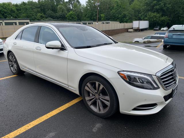 Vehiculos salvage en venta de Copart North Billerica, MA: 2015 Mercedes-Benz S 550 4matic