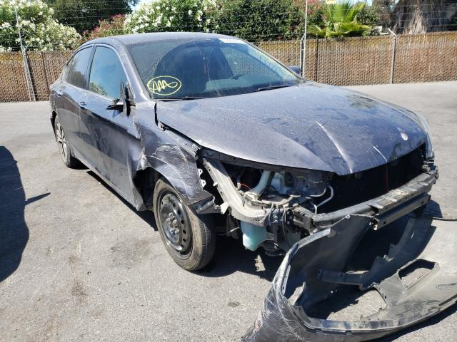 Salvage cars for sale from Copart San Martin, CA: 2015 Honda Accord LX