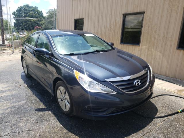 Salvage cars for sale from Copart China Grove, NC: 2014 Hyundai Sonata GLS