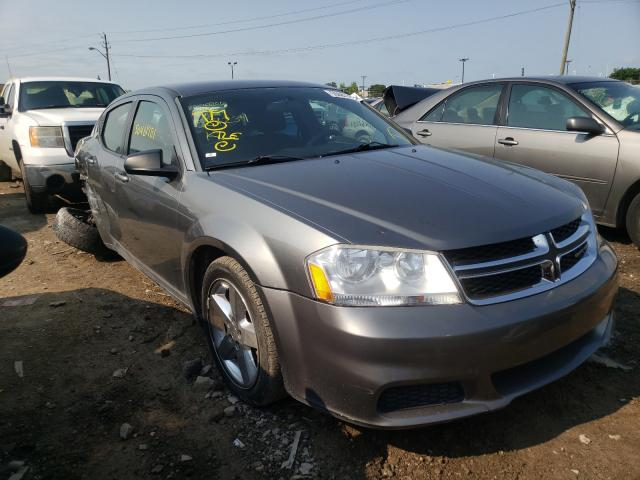 Salvage cars for sale at Indianapolis, IN auction: 2013 Dodge Avenger SE