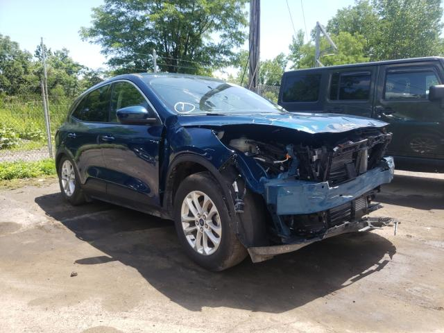 Salvage cars for sale from Copart Marlboro, NY: 2020 Ford Escape SE