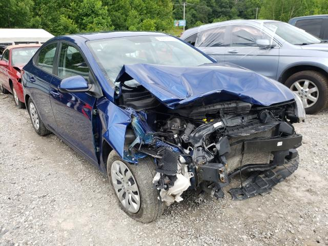 Salvage cars for sale from Copart Hurricane, WV: 2019 Hyundai Accent