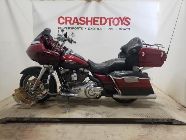 Salvage motorcycles for sale at Greenwell Springs, LA auction: 2011 Harley-Davidson Fltruse