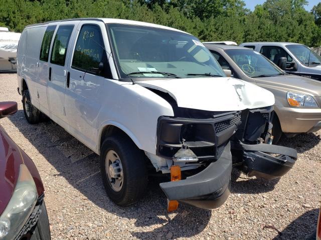 Salvage trucks for sale at Charles City, VA auction: 2017 Chevrolet Express G3