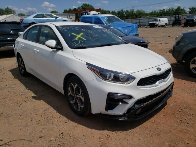 Salvage cars for sale from Copart Hillsborough, NJ: 2019 KIA Forte FE