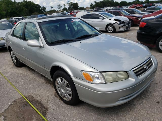 Salvage cars for sale from Copart Riverview, FL: 2001 Toyota Camry LE