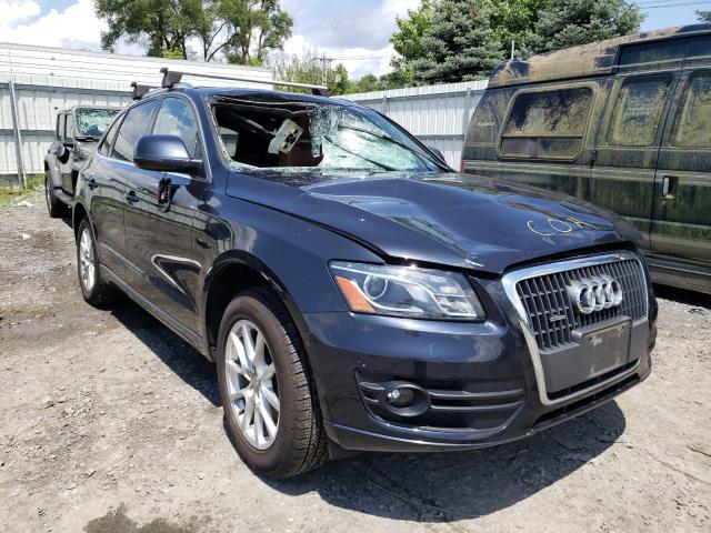 Audi Q5 Premium salvage cars for sale: 2012 Audi Q5 Premium