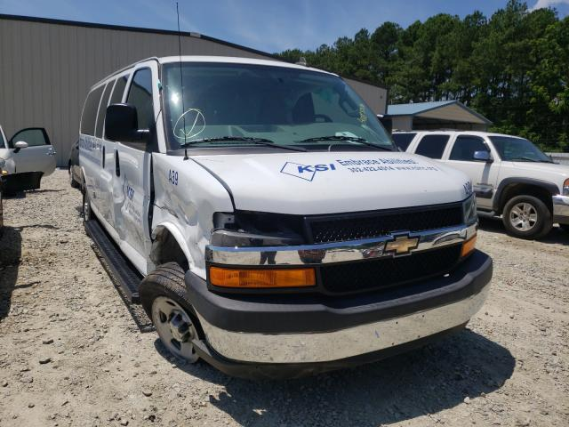 Salvage cars for sale from Copart Seaford, DE: 2017 Chevrolet Express G3