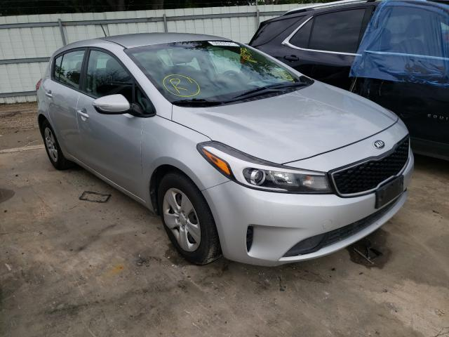 Salvage cars for sale from Copart Corpus Christi, TX: 2017 KIA Forte LX