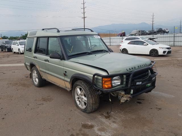 Land Rover Discovery salvage cars for sale: 2002 Land Rover Discovery