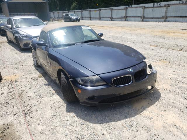 Salvage cars for sale from Copart Seaford, DE: 2005 BMW Z4 2.5
