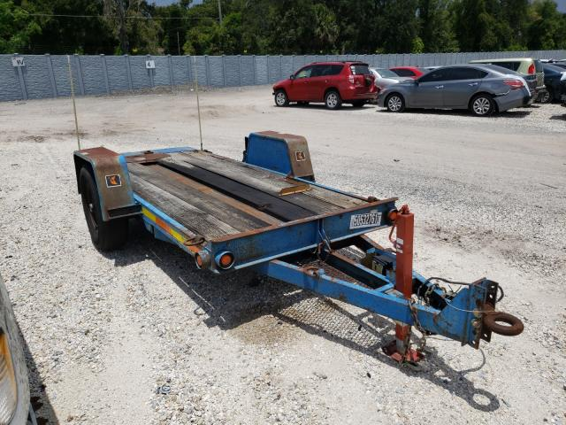 Salvage cars for sale from Copart Apopka, FL: 2001 Diwi Trailer