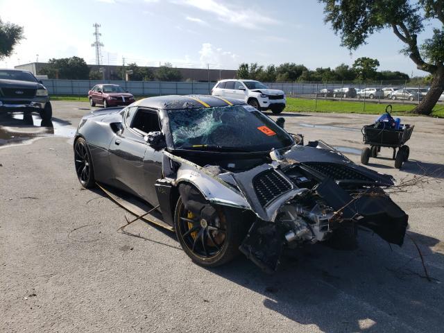 Lotus Evora salvage cars for sale: 2018 Lotus Evora