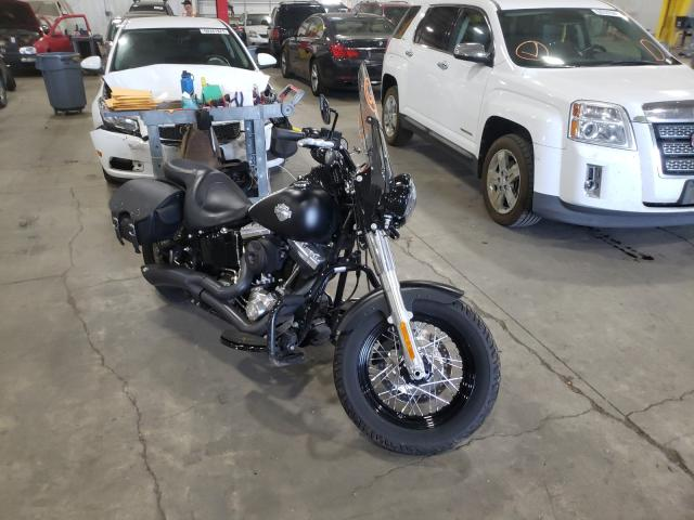 Salvage motorcycles for sale at Woodburn, OR auction: 2017 Harley-Davidson FLS Softai