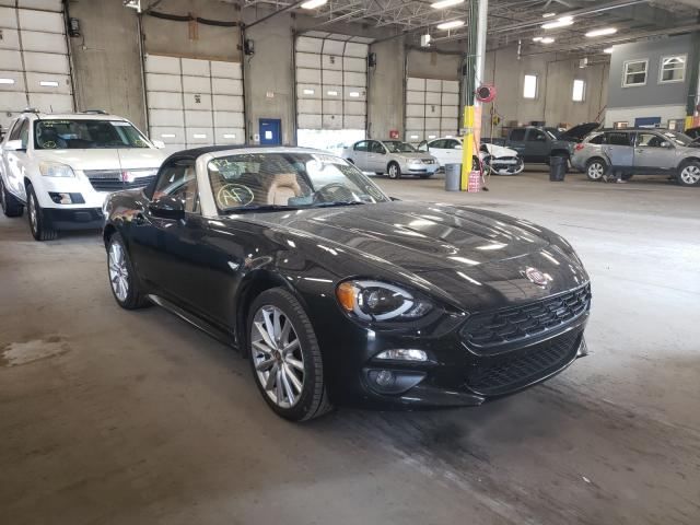 Fiat salvage cars for sale: 2017 Fiat 124 Spider