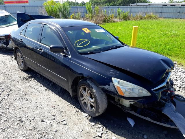 Salvage cars for sale from Copart Montgomery, AL: 2007 Honda Accord SE