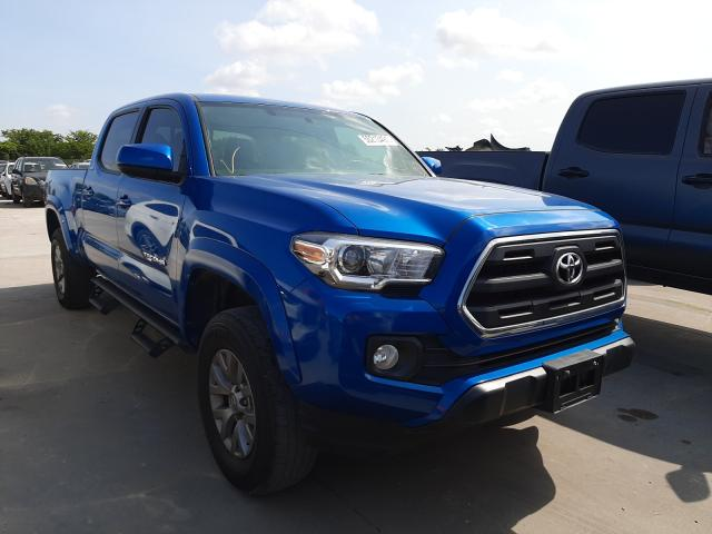 Salvage cars for sale from Copart Grand Prairie, TX: 2017 Toyota Tacoma DOU
