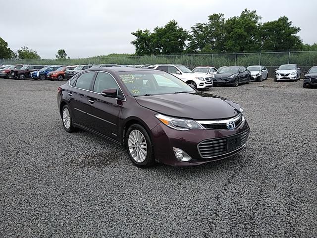 Salvage cars for sale from Copart Hillsborough, NJ: 2015 Toyota Avalon Hybrid