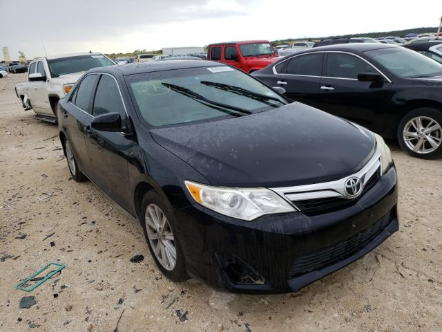 Salvage cars for sale from Copart New Braunfels, TX: 2012 Toyota Camry SE