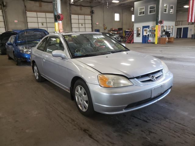 Salvage cars for sale from Copart Blaine, MN: 2002 Honda Civic EX
