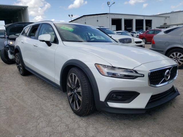 Salvage cars for sale at Riverview, FL auction: 2021 Volvo V60 Cross