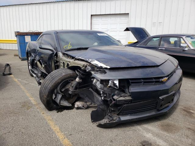 Salvage cars for sale from Copart Vallejo, CA: 2015 Chevrolet Camaro LT