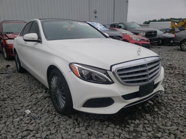 Vehiculos salvage en venta de Copart Windsor, NJ: 2015 Mercedes-Benz C 300 4matic