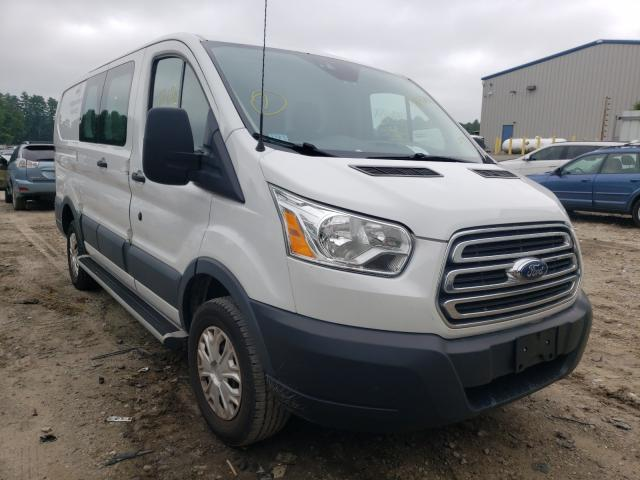 Salvage cars for sale from Copart Mendon, MA: 2016 Ford Transit T