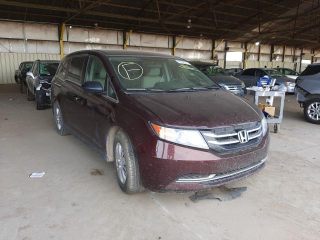 Salvage cars for sale at Phoenix, AZ auction: 2014 Honda Odyssey LX