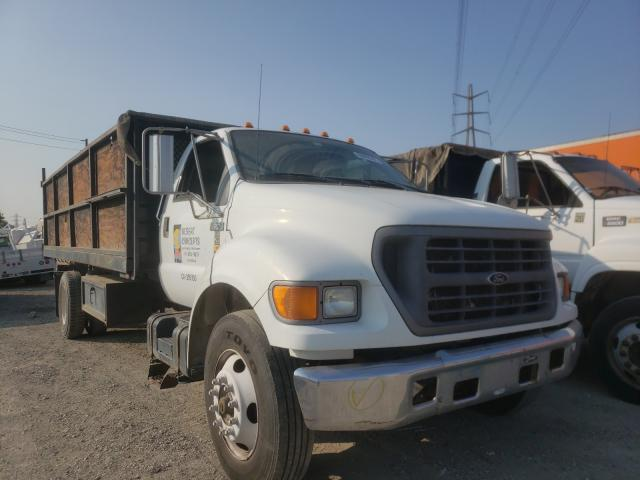 Ford F650 salvage cars for sale: 2000 Ford F650