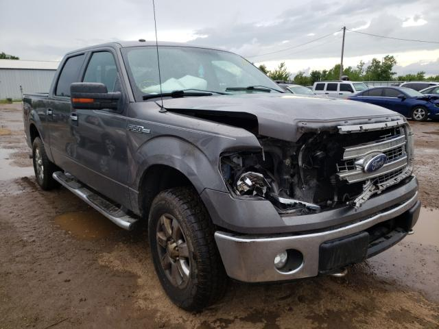 Salvage cars for sale from Copart Pekin, IL: 2013 Ford F150 Super