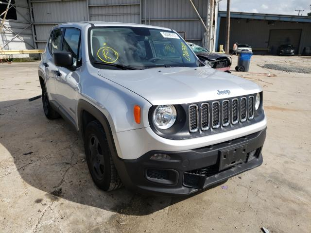 Salvage cars for sale from Copart Corpus Christi, TX: 2015 Jeep Renegade S