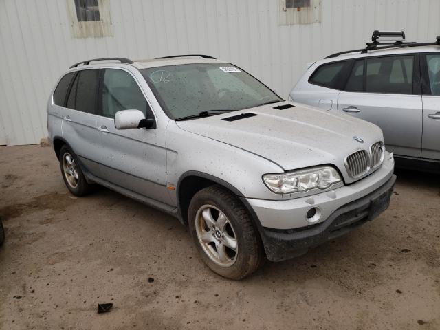 BMW Vehiculos salvage en venta: 2002 BMW X5