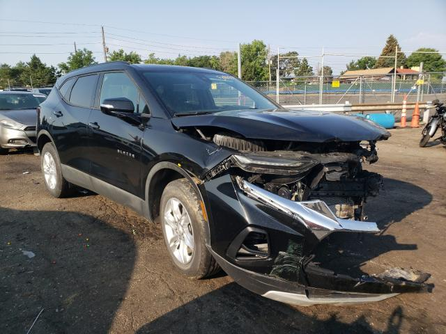 Salvage cars for sale from Copart Denver, CO: 2021 Chevrolet Blazer 2LT