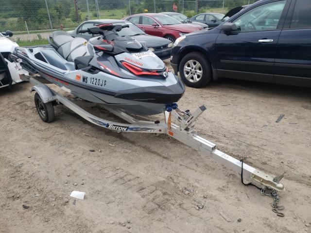 Salvage cars for sale from Copart Madison, WI: 2019 Seadoo RXT300