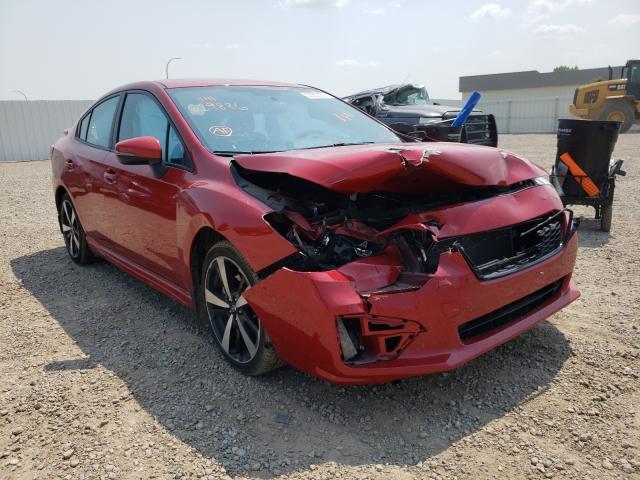 Vehiculos salvage en venta de Copart Bismarck, ND: 2019 Subaru Impreza SP