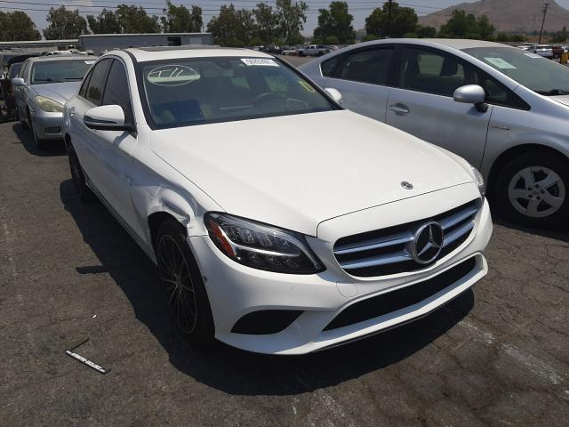 Salvage cars for sale from Copart Colton, CA: 2020 Mercedes-Benz C300