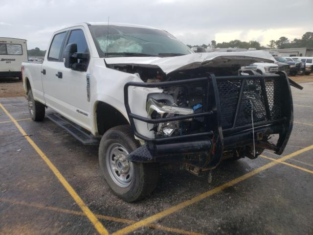 Salvage cars for sale from Copart Longview, TX: 2019 Ford F350 Super