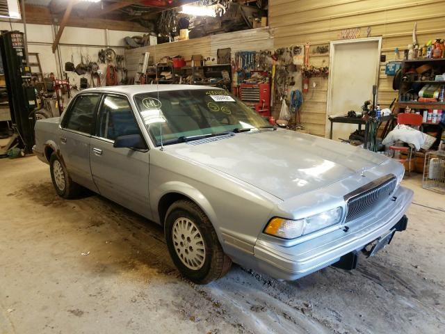 Salvage cars for sale at Billings, MT auction: 1996 Buick Century SP